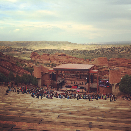 Atmosphere and Friends: A Road Trip to Red Rocks