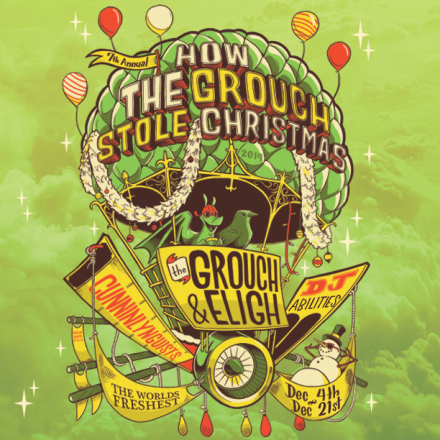 There Are Still Dates Left on the How the Grouch Stole Christmas tour!